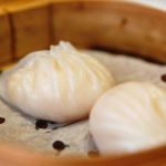 shrimp dumplings , dim sum